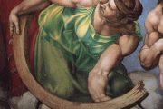 Giudizio Universale. Santa Caterina - 1536-1541 - Affresco - Cappella Sistina in Vaticano - Roma