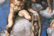 Giudizio Universale. San Bartolomeo - 1536-1541 - Affresco - Cappella Sistina in Vaticano - Roma