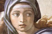 Sibilla Delfica - 1509 - Affresco - Cappella Sistina in Vaticano - Roma