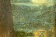 Leonardo da Vinci - Monna Lisa dettaglio paesaggio destra - olio su tavola - 1503-1513(circa) - Louvre - Parigi