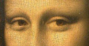 Leonardo da Vinci - Monna Lisa dettaglio sguardo - olio su tavola - 1503-1513(circa) - Louvre - Parigi