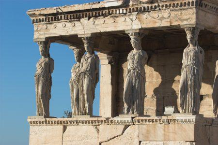 Porch of Maidens, Erechteum Acropolis Athens