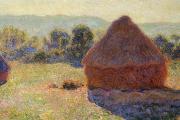 Claude Monet, The grainstacks, end of summer, morning effect, 1891, Musée d'Orsay, Paris