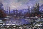 Claude Monet, Thaw, Seine, 1880