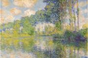 Claude Monet, 1891, Wind effect, Series of the poplars, Musée d'Orsay, Paris