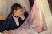 Berthe Morisot, The cradle, 1872, Musée d'Orsay, Paris
