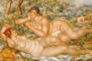 Auguste Renoir, The big swimmers, 1918, Musée d'Orsay, Paris