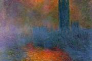 Claude Monet, London. The Parliament,1904, Musée d'Orsay, Paris
