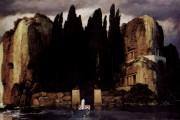 Arnold Böcklin, L'isola dei morti (quinta versione), 1886, Museum der Bildendenkunste, Lipsia
