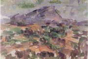 Paul Cézanne, Monte Sainte Victoire, 1905, Kunst Haus, Zurigo
