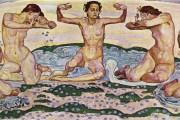 Ferdinand Hodler, Il giorno(seconda versione), 1904-1907, Kunsthaus, Zurigo