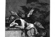 Francisco Goya, Il sonno della ragione genera mostri, 1797, Biblioteca Nazionale, Madrid