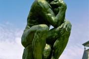 Auguste Rodin, Il Pensatore, 1880-1920, Musée Rodin, Parigi