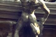 Auguste Rodin, La porta dell'inferno (dettaglio), 1880-1917, Musée Rodin, Parigi