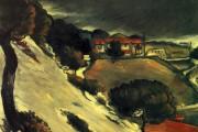 Paul Cézanne, Neve sciolta all'Estaque, 1870, Collezione privata