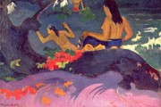 Paul Gauguin, Seaside, 1892, National Gallery of Art, Washington