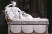 Antonio Canova, Paulina Borghese Bonaparte come Venere vincitrice, 1804-1808, Gallerie Borghese, Roma