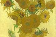 Van Gogh, Vase with Fourteen Sunflowers, 1888, National Gallery, London