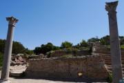 Zona termale, villa romana imperiale di Nerone, Isola di Giannutri