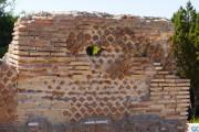 Paramenti murari: opus mixtum, villa romana imperiale di Nerone, Isola di Giannutri