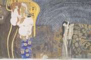 Gustav Klimt - Fregio di Beethoven - Forze ostili e dolore struggente - 1902 - Palazzo della Secessione - Vienna