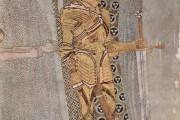 Gustav Klimt - Fregio di Beethoven - Il caveliere d'oro - 1902 - Palazzo della Secessione - Vienna