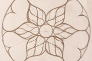 How to draw a stained-glass window