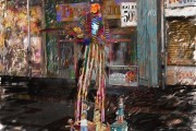 Freedom sales, Massimo Balestrini, Mixed media su tela, 2006