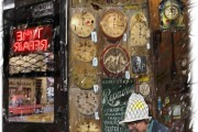 Time repair, Massimo Balestrini, Mixed media su tela, 2008