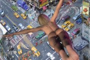 Jump, Massimo Balestrini, Mixed media su tela, 2008
