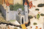 Castello Buonconsiglio, Maestro Venceslao ciclo dei mesi gennaio - Trento