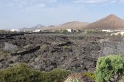 Vista panoramica Lanzarotte da casa Manrique - Fondazione César Manrique - Tahíche Lanzarote