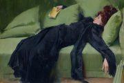 Ramon Casas, Dopo il ballo, 1899, olio su tela, Museo de Montserrat, Barcellona