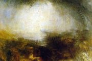 William Turner - Ombra e oscurità - la sera del Diluvio - 1843 - olio su tela - Tate Gallery - Londra