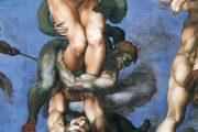 Giudizio Universale. Minosse - 1536-1541 - Affresco - Cappella Sistina in Vaticano - Roma