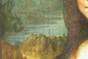 Leonardo da Vinci - Monna Lisa dettaglio paesaggio sinistra - olio su tavola - 1503-1513(circa) - Louvre - Parigi