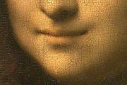 Leonardo da Vinci - Monna Lisa dettaglio bocca - olio su tavola - 1503-1513(circa) - Louvre - Parigi